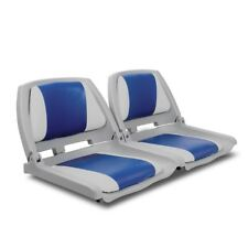 Set of 2 Swivel Folding Marine Boat Seats