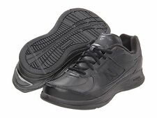NEW MENS NEW BALANCE MW577 Black Leather LACE UP  WALKING SHOES NEW IN BOX