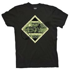 Tour De France Mountain Project Hautacam T-shirt Black