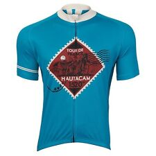 Tour De France Hautacam Jersey | Green, Blue | Size: S, M, L, XL, XXL