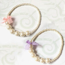 Princess Toddlers Gift New Necklace Imitation Pearls Baby Girls Party Necklace