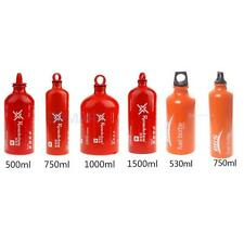 Outdoor Camping Oil Alcohol Stove Fuel Bottle Container Can 500/530/750/1500ml