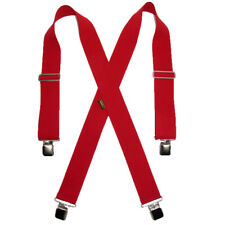 New Welch Men's Big & Tall Elastic Clip-End 2 Inch Work Suspenders