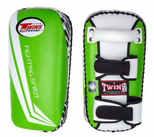 Twins Muay Thai Boxing Curved Thai Pads- Kickboxing Training, Sparing, Fighting