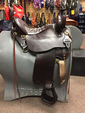 "260-620-6211-11 Tucker High Plains Western Trail Saddle 16.5"" Med. Tree NEW"