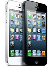 Apple iPhone 5 -32GB (Factory Unlocked) GSM Smartphone Cell Phone Black White*