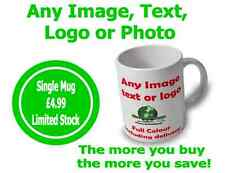 Personalised Mug / Cup - Custom Gift Your Image Photo Text Picture FREE POSTAGE