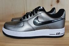 NIKE WOMENS AIR FORCE 1 LOW METALLIC PEWTER BLACK  WMNS SZ 7-7.5 315115-007  L