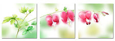 No Frame Abstract Canvas Print Painting Picture Home Decor Wall Art Flowers 3PCS