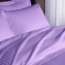 Lilac Stripe Egyptian Cotton 1000TC All Bedding Collection All Items&Sizes