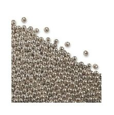 Edible 4mm Silver Sugar Balls Dragees for Cupcake Spinkles Cake Decorations