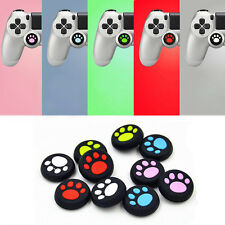 2 Pair Silicone Joystick Thumb Stick Grips Cap Case for PS4/Xbox One Controller