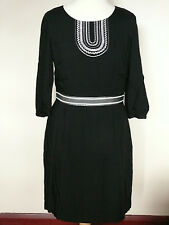 Boden Carla pretty day dress  *New Price* Black, Pewter or Teal, 14R or 14L
