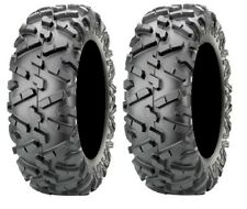 Pair of Maxxis BigHorn 2.0 Radial 27x9-12 ATV Tires (2)