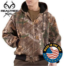Carhartt Camouflage Active Jacket - Thermal Lined - REAL TREE CAMO