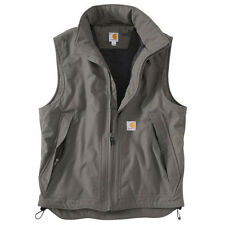 Carhartt Jefferson Quick Duck® Vest - Quilt Lined - CHARCOAL GRAY