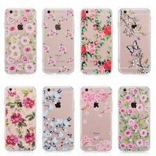Pretty Floral Roses Flowers Vintage Retro Case Hard Cover iPhone 7 P 5s/SE 6/s