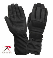 NEW ROTHCO 4421 Black Fire Resistant Griplast Military Gloves - SHIPS FAST/FREE