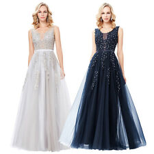 Wedding Dance Bridesmaid Ball Gown Evening Prom Party Cocktail Formal Maxi Dress