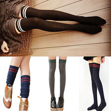 Compression Stockings Over  Knee Socks High Stockings Cylinder College Wind