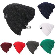New Unisex Beanie Hat Unisex Women Men Fashion Stretch Long Knit Winter TXGT
