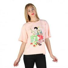 Love Moschino Clothing Women T-shirts Pink 74772 Deal BDX