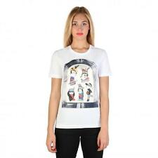 Love Moschino Clothing Women T-shirts White 74765 Deal BDX