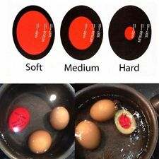 Egg Perfect Color Changing Timer Yummy Boiled Eggs + Spring Wire Egg Cup LKP
