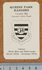 BERTCORD Big League Single Football Card QPR Queens Park Rangers - VARIOUS