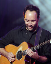 Dave Matthews Poster or Photo Playing Guitar in Concert Close Up Image