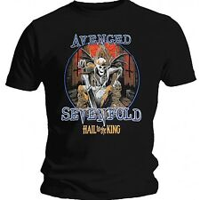 Avenged Sevenfold Deadly Rule Shirt M L XL Official T-Shirt Rock Band Tshirt