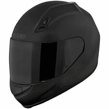 Speed and Strength SS 700 Matte Black Full Face Helmet Clear Shield