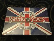 Brit Quiz - Battle of the Sexes Board Game - New and Sealed