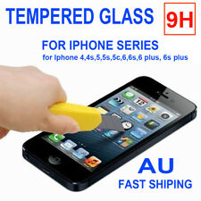 Tempered Glass Screen Protector Film Guard for Iphone 4 4S 5 5S 5C 6 6s +Plus