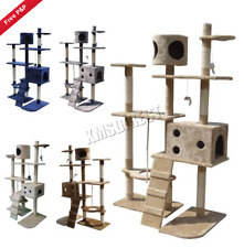 Cat Tree House Scratching Post Furniture Activity Center Scratcher Bed Climbing
