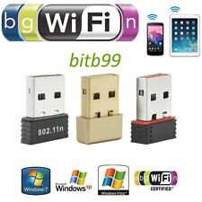 Wireless USB Adapter LAN Wifi Dongle f. Raspberry Pi 802.11b/g/n 150Mbps GH