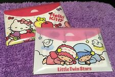 Hello Kitty Little Twin Stars Memo Note Message Letter New Product Gift Sanrio