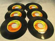 Lot of Beatles 45's Capitol Lp Records
