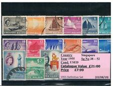 GB Commonwealth Stamps - Malaysia / Singapore