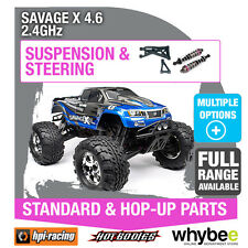 HPI SAVAGE X 4.6 2.4GHz [Steering & Suspension] Genuine HPi Racing R/C Parts!