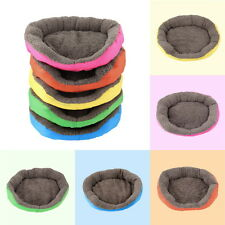 5 Colors Soft Pet Dog Puppy Cat Cozy Warm Nest Bed House with Plush Mat Pad KW