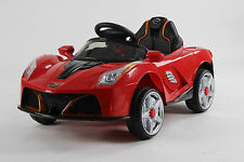 kids 2017 6v electric ferrari style ride on car ride on toy electric car