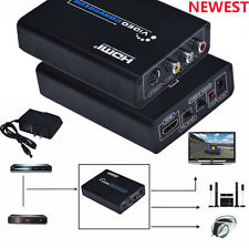 NEWEST Premium Scart to HDMI 720P 1080P HD Video Converter Monitor Box For HDTV