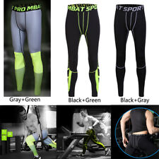 Sports Mens Compression Under Base Layer Pant Long Tight Skin Pants US Warehouse