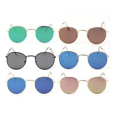 3447 Fashion Metal Frame Sports Sunglasses Colorful Lens UV400 Sunglasses LN