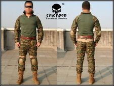 EMERSON Military Tactical Series Airsoft Paintball Combat Uniform Gen2  Woodland
