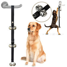 Funny Dog Puppy Pet Tinkle Bell Loud Doorbells For Housebreaking Potty Training