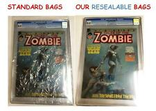(35) Graded MAGAZINE CGC CBCS SLAB RESEALABLE CRYSTAL CLEAR MYLAR COMIC BAGS