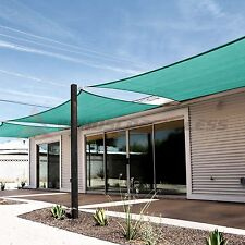 Sun Shade Sail Turquoise Green Rectangle Square Canopy Awning  Patio Pool Cover