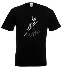 Keith Richards Autograph T Shirt Rolling Stones Mick Jagger Keef Brian Jones
